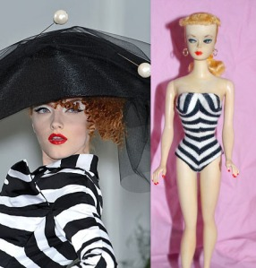 Dior Couture & Original Barbie